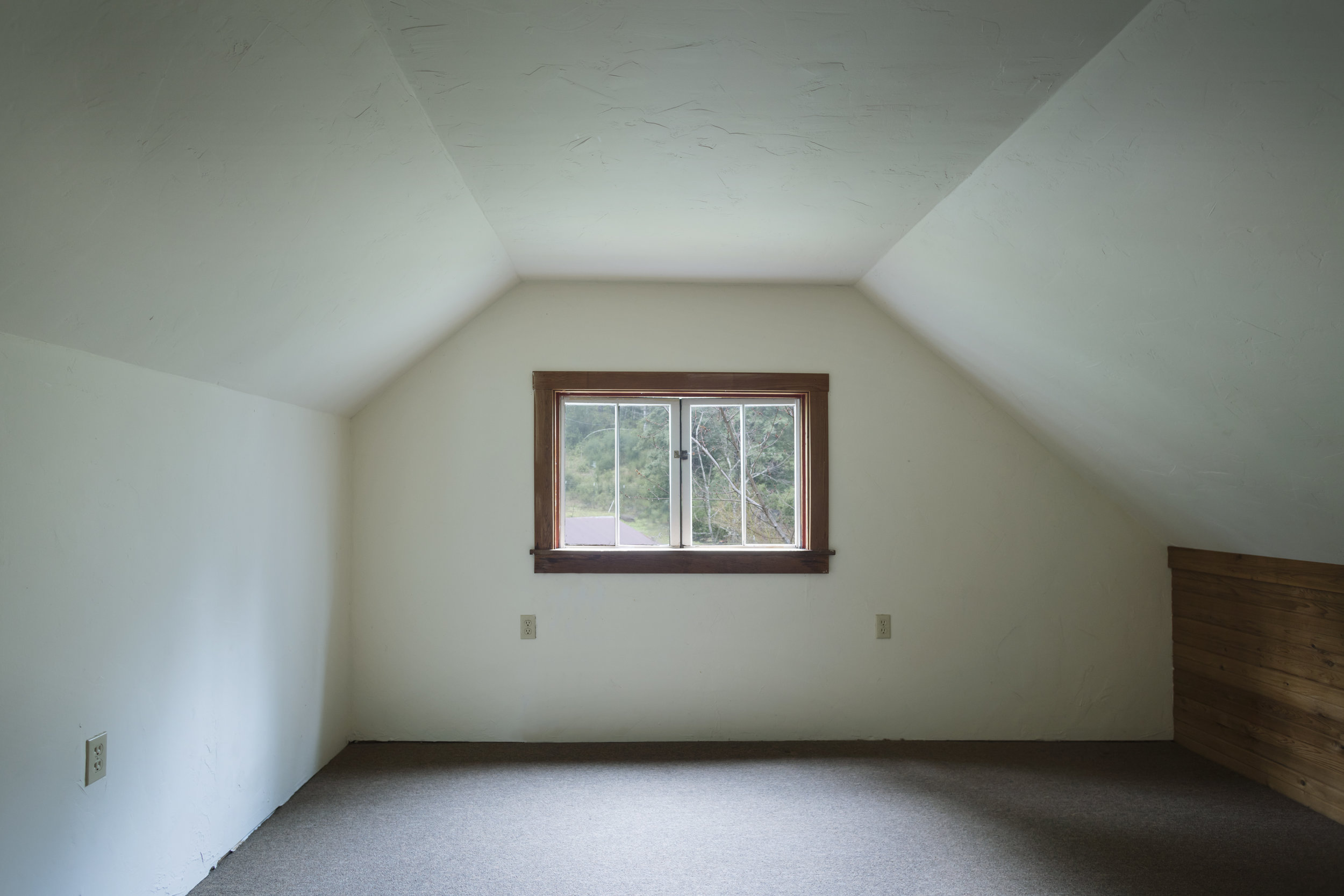 Third floor room in a home for sale in Philo, CA