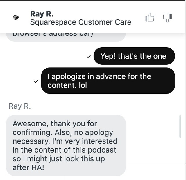 Getchu a brand so surprising, so engaging, that even customer service people can't help but get hooked. [This is a real interaction we had this week regarding one of our brands.] — #funny #funsells #copywriting #copy #brand #brandingmatters #branding #brandstrategy #creativeidea #entrepreneur #humormarketing #humoridentity #entrepreneurship #businessinspiration #marketing #smallbiz #strategy #creativebusiness #creativeagency #ideaagency #create #business #businessinspo #businesswomen #businesswoman #hilarious #contentmarketing #comedycontent