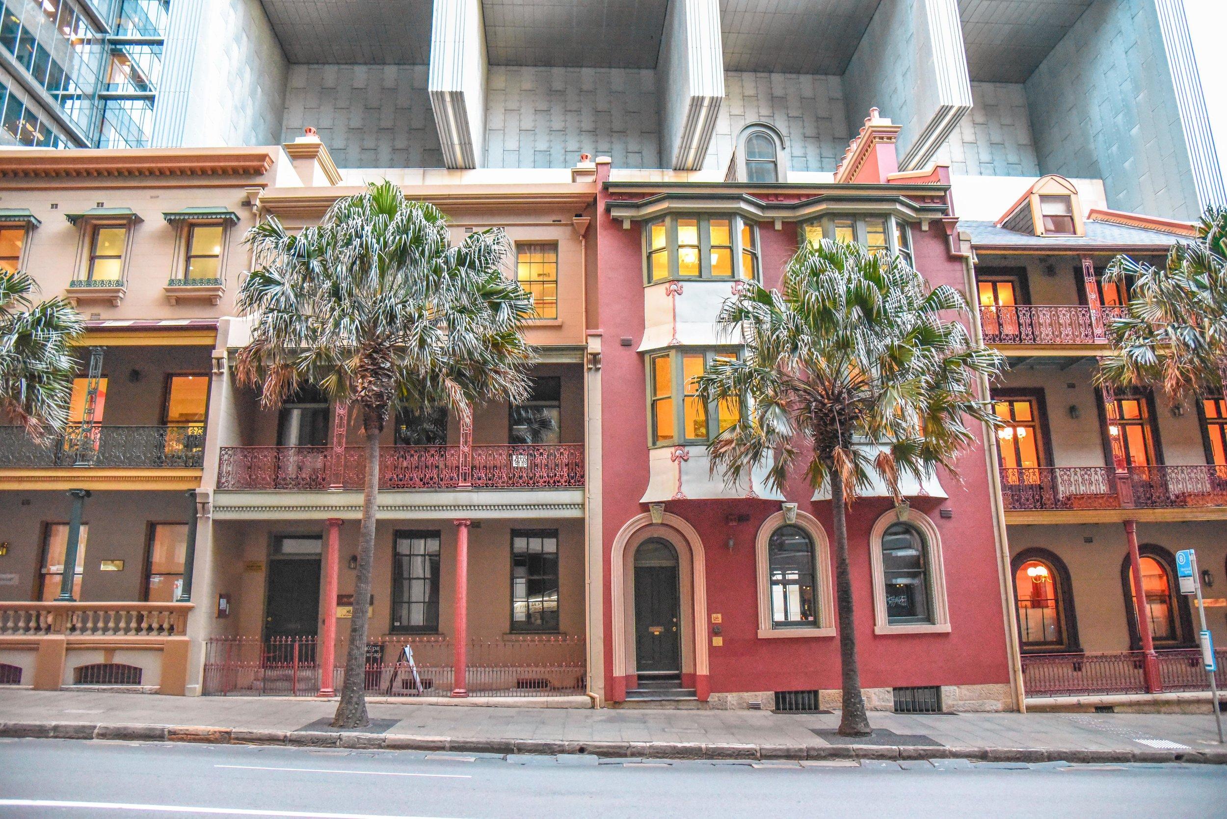 Exploring downtown Sydney