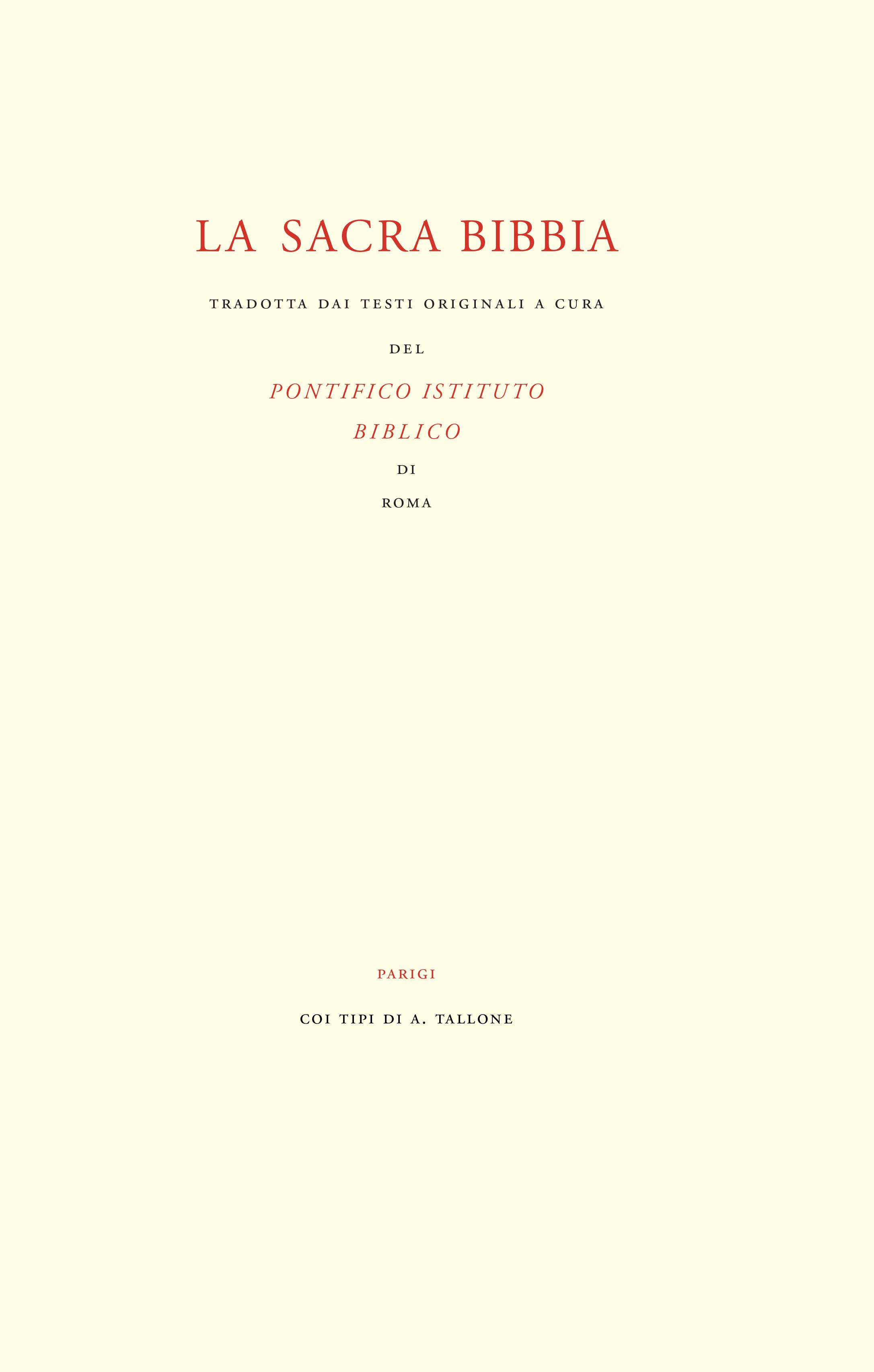 ALBERTO TALLONE  Paris, France, 1955  Garamond  18.4 X 28.9 cm  Letterpress  Liber Librorum Collection