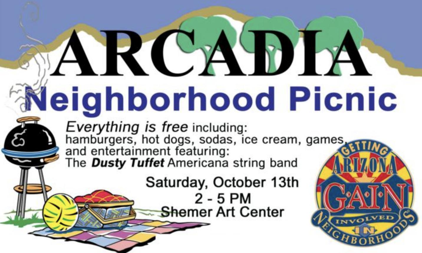 GAIN Arcadia Neighborhood Picnic