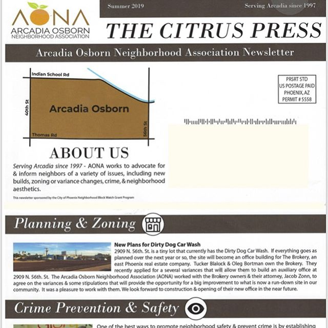 🍊 EXTRA! EXTRA! The AONA summer newsletter is hot off the press and in your mailbox 🗞 Check it out! 🍊 #arcadiaosborn #arcadiaphoenix #lovewhereyoulive #summerinthecity #summerinarcadia #aona
