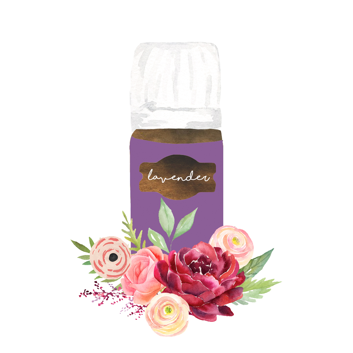 Lavender - Swiss Army Knife of Oils; diffuse it or rub it on your skin for health and relaxation.