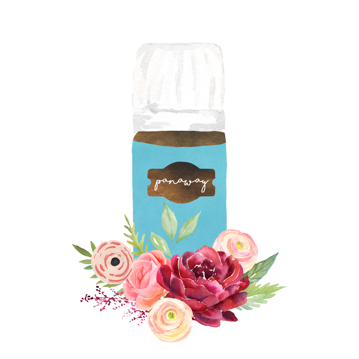 Panaway - Provides relief after exercise or rubbed on your belly once a month. You can also add to Epsom Salts for a dreamy bath time experience.