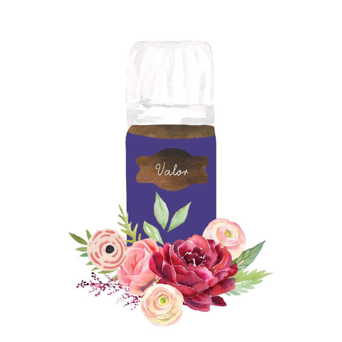 Valor - This is a must-have oil. My absolute fav! It's a temper-tamer, confidence-booster, emotion-calming powerhouse.
