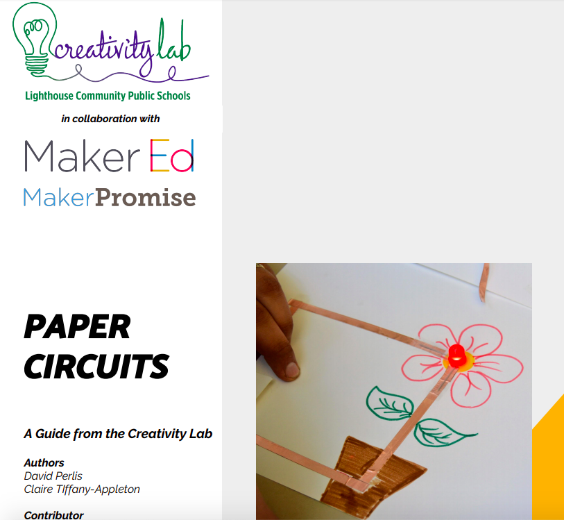 A simple  project guide  for how to make paper circuits, using copper tape.