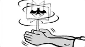 SF's Exploratorium has easy  instructions  to make a cartoon flipstick.