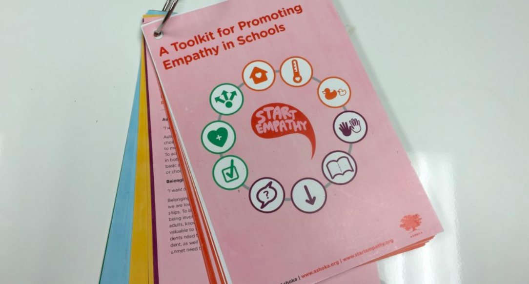A  toolkit  for teaching empathy in schools, by Ashoka's changemakers.