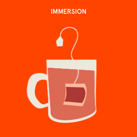 This  quick guide  will help you learn and teach best way to learn and get inspired…immersion, IDEO style!