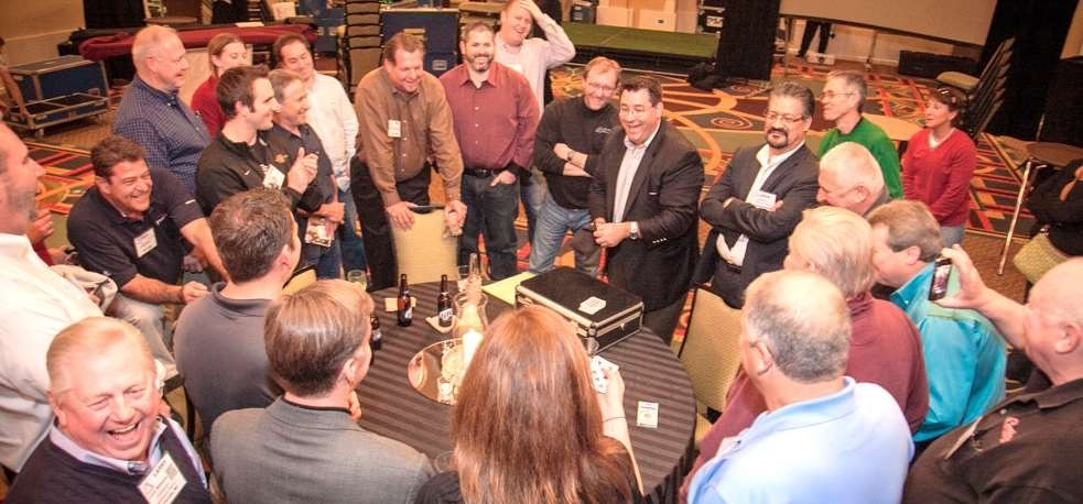 Mike Duseberg creates an unforgettable experience for VIP clients in Atlanta, Georgia. They're still talking about it nine years later!