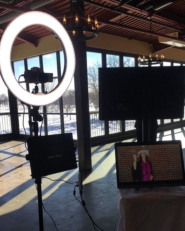 All set up at Frankenmuth Brewery! Also or future wedding spot! #slowmotion #engagement #engaged #wedding #weddingdress #weddingvideography #party #slowmotionvideobooth #photobooth #weddingrentals #videobooth #engagementparty #brewery #michiganwedding #northernmichiganwedding #detroitwedding #detroit