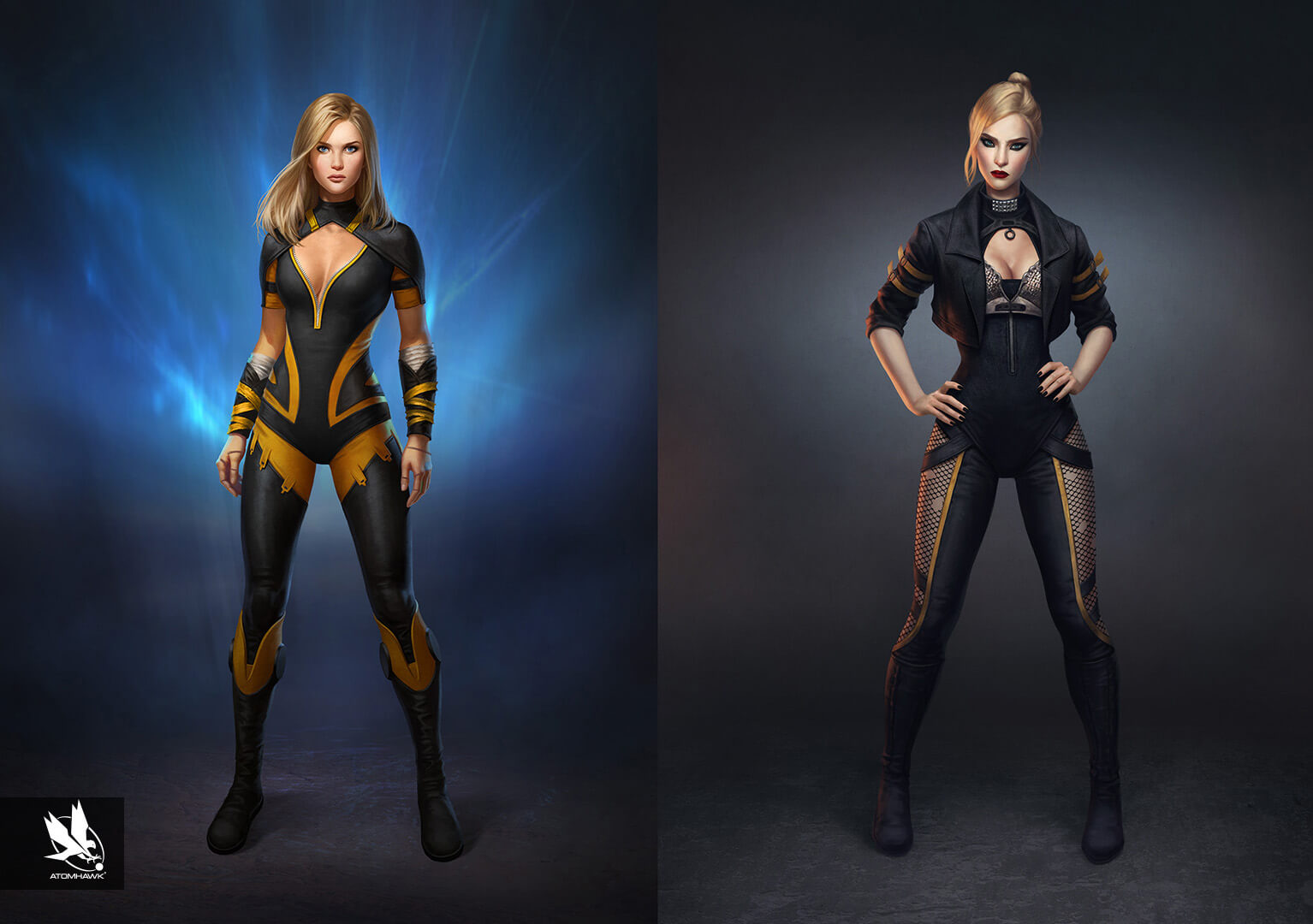 Character Art - Injustice2 - Black Canary