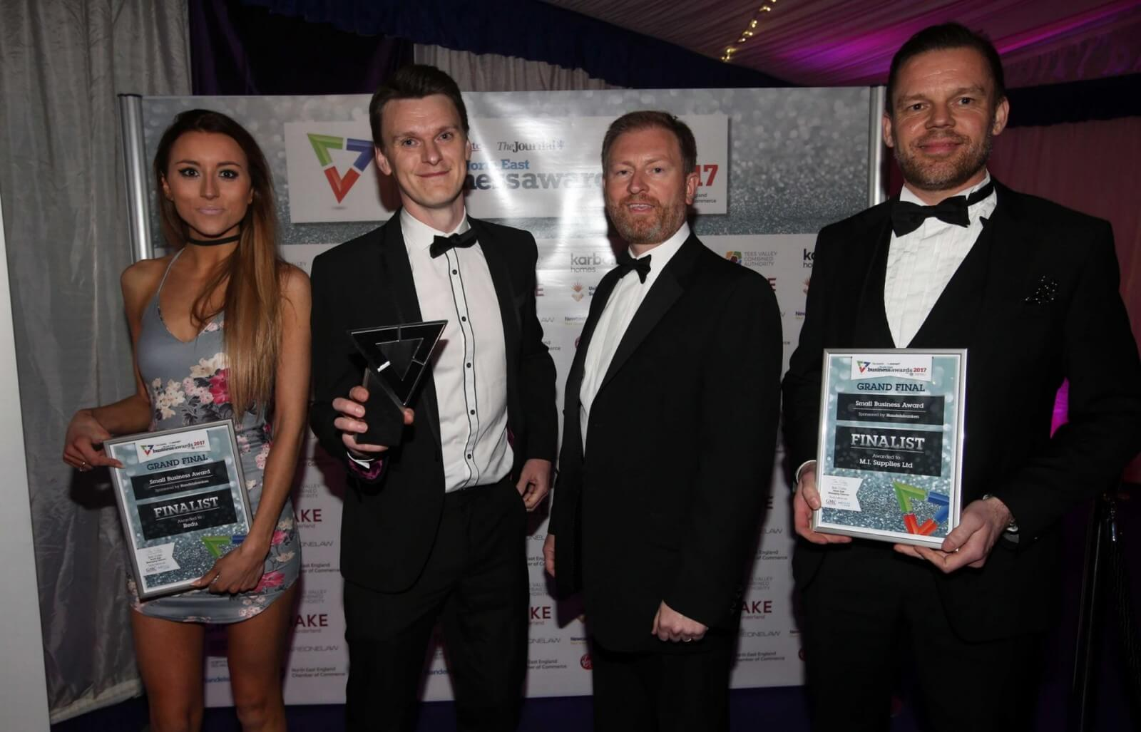 Atomhawk: Best Small Business - North East 2017
