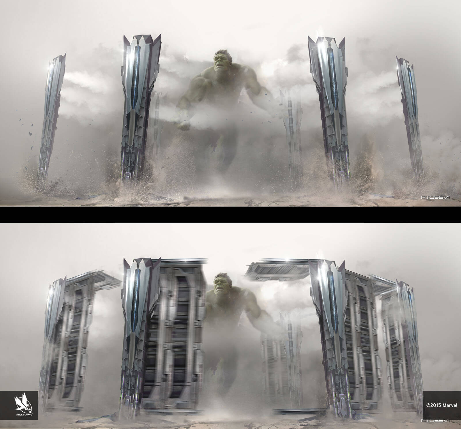 Avengers Age Of Ultron Concept Art and Environment Design