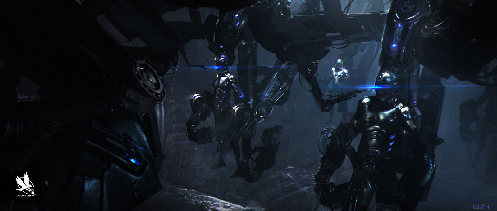 Avengers Age Of Ultron - Concept Art and Environment Design - Fortress Factory Level 2