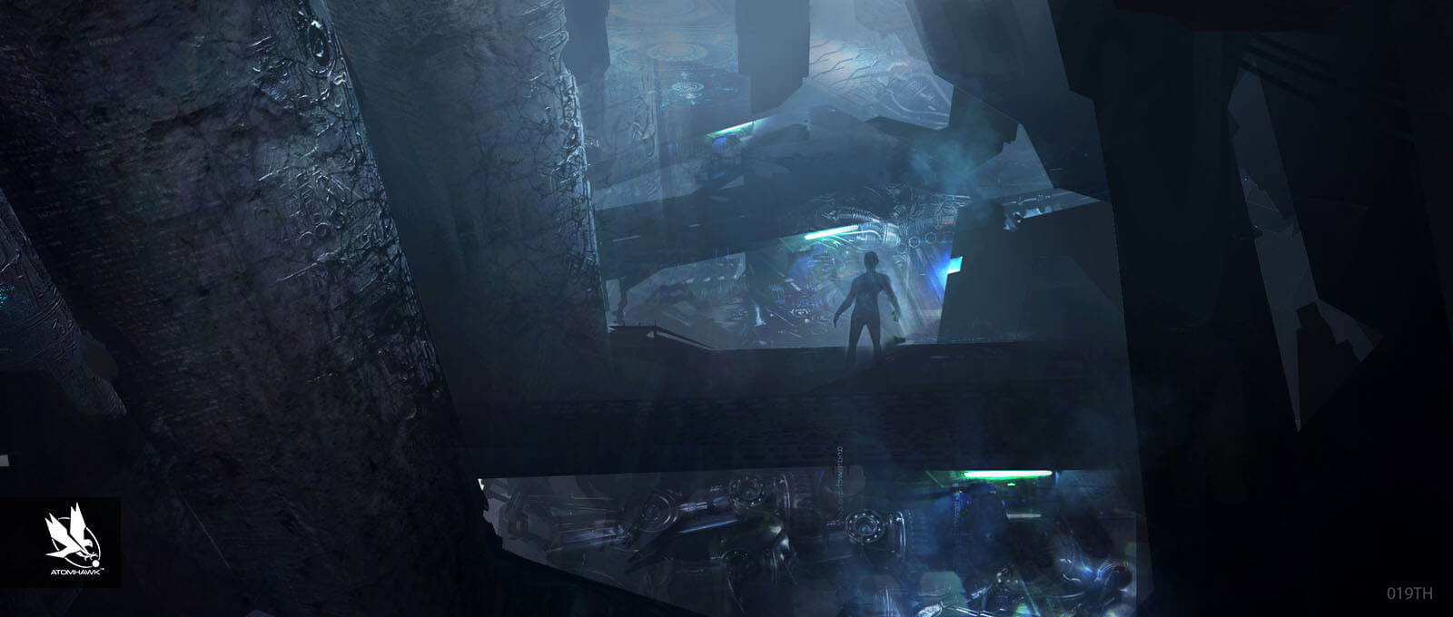 Avengers Age Of Ultron Project - Concept Art and Environment Design - Fortress Factory Level 4