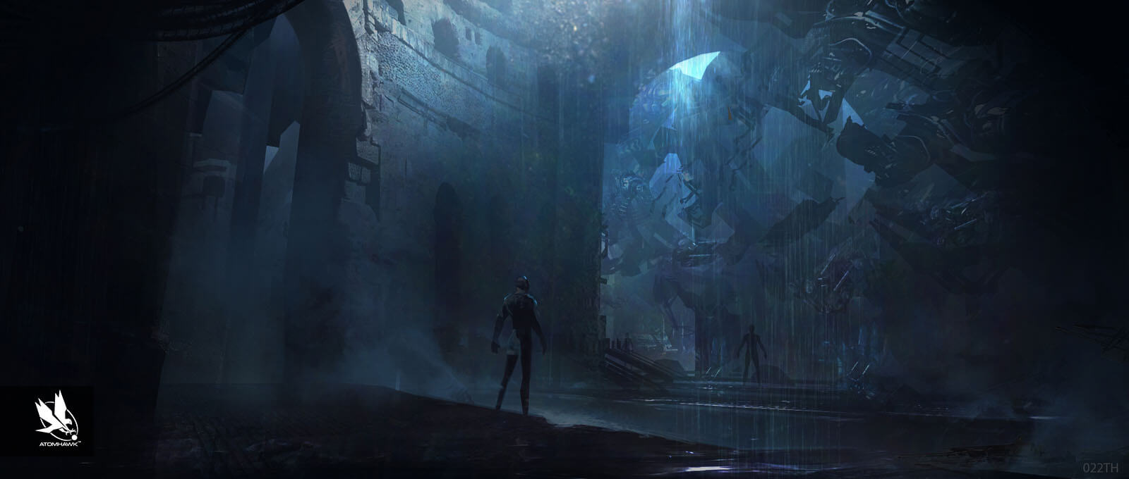 Avengers Age Of Ultron Project - Concept Art and Environment Design - Fortress Factory Level 6
