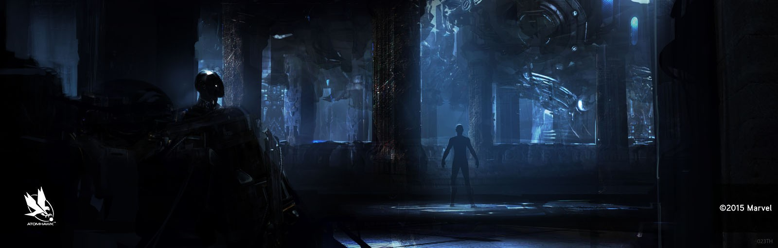 Avengers Age Of Ultron Project - Concept Art and Environment Design - Fortress Factory Level 5
