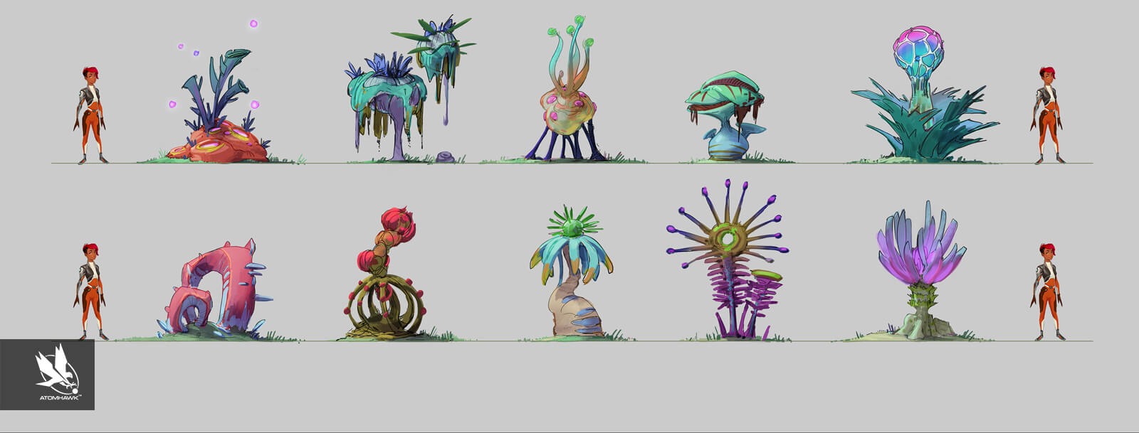 Atomhawk_Unity_3D-Game-Kit_Concept-Art_Breakout-Design_Alien-Vegetation-Bushes2.jpg