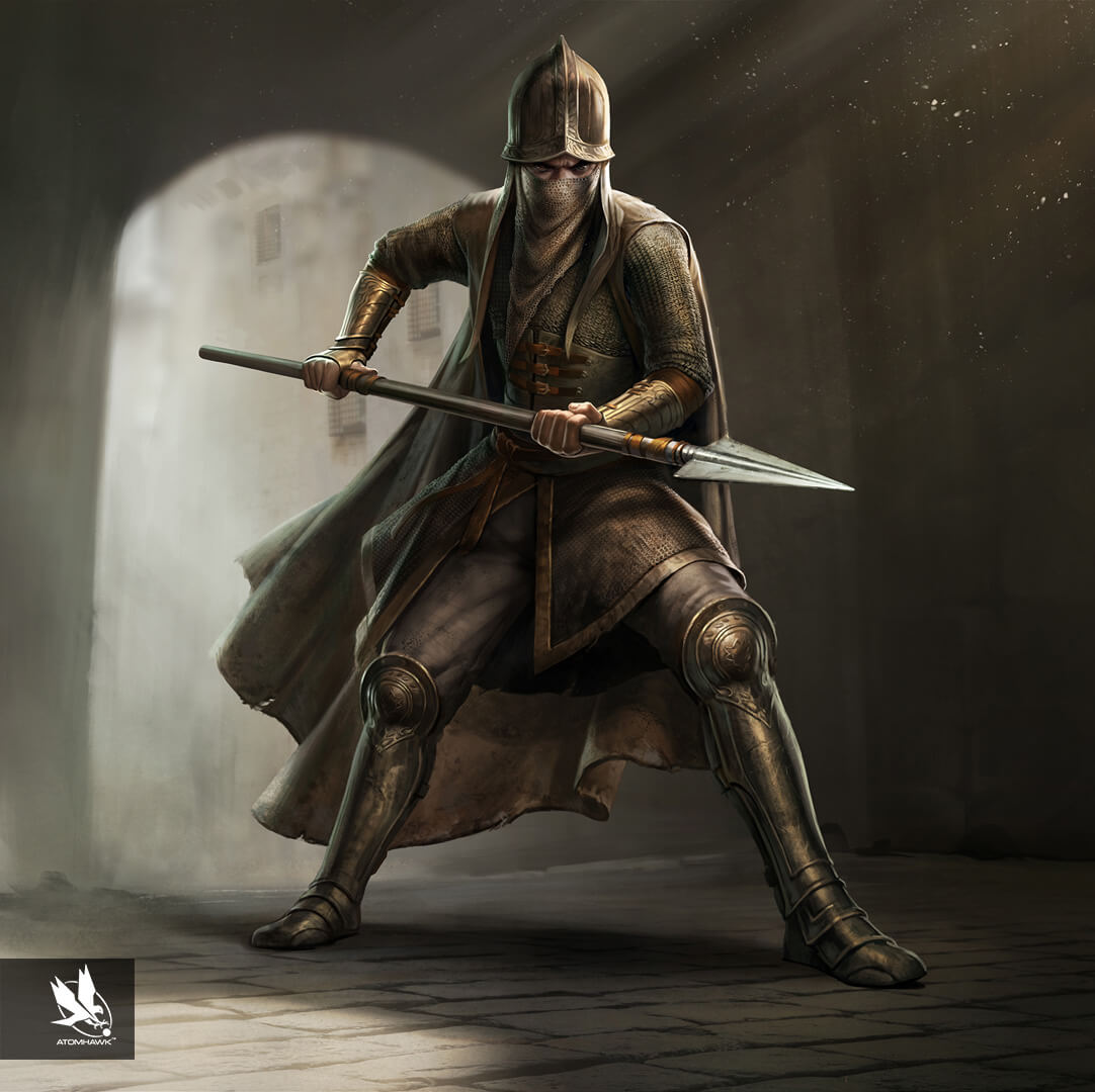 Game Of Thrones Conquest - Character Design - Militant Male