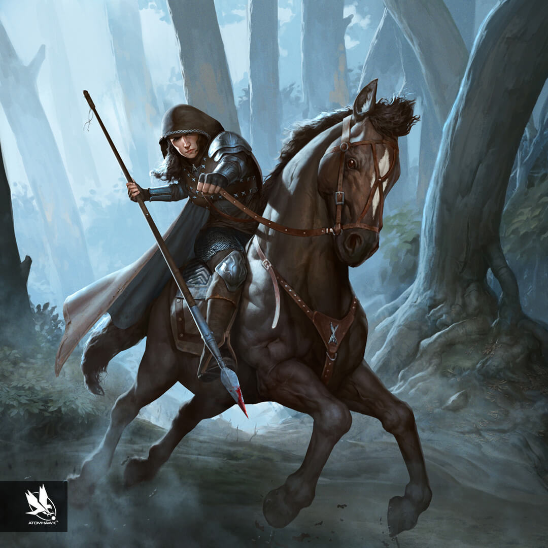 Game Of Thrones Conquest - Character Design - Mounted Pikeman