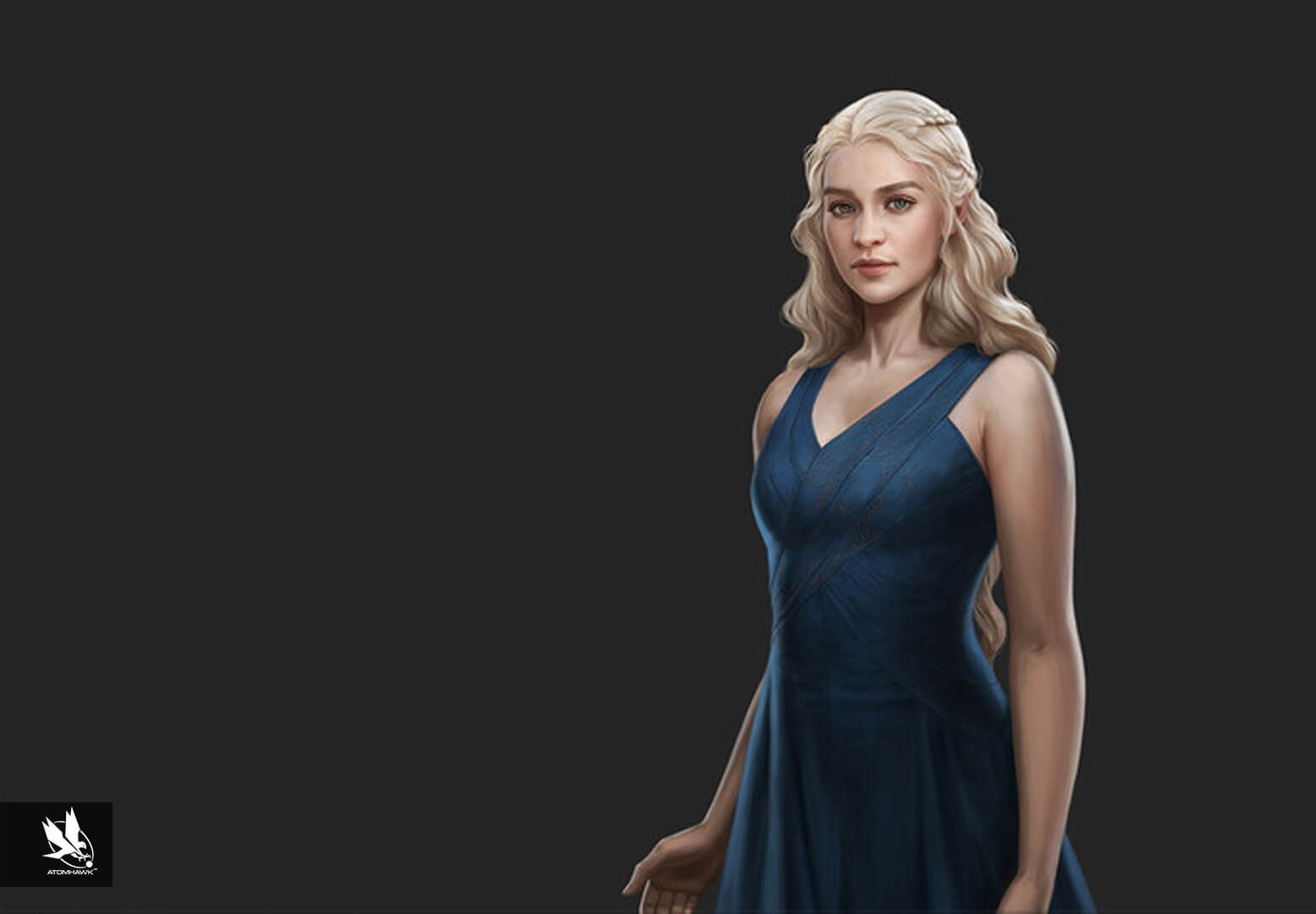 Game Of Thrones Conquest - Character Design - Danerys