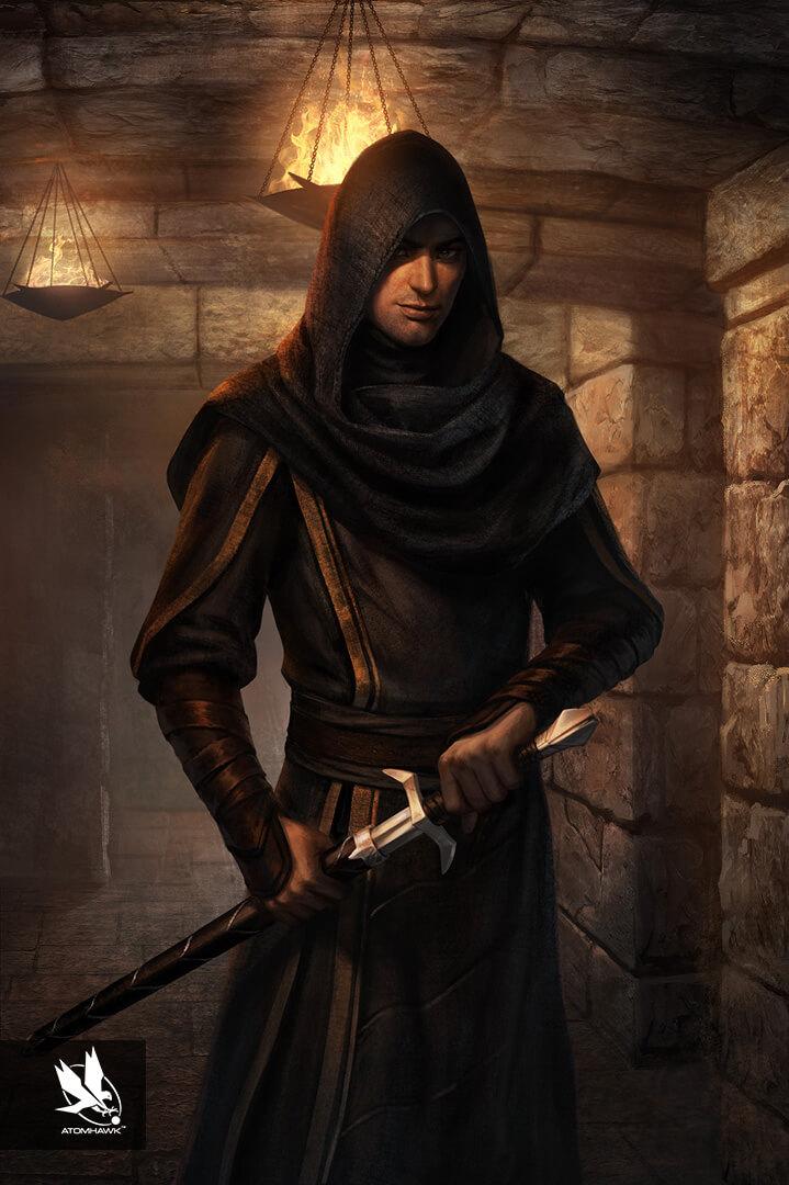 The Elder Scrolls Legends - Concept Art - Cardinal Lucien Lachance