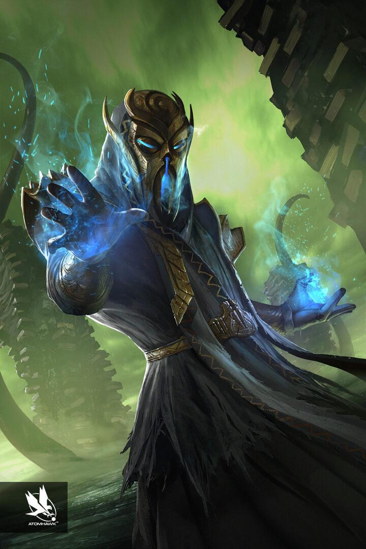 The Elder Scrolls Legends - Concept Art - Cardinal Miraak