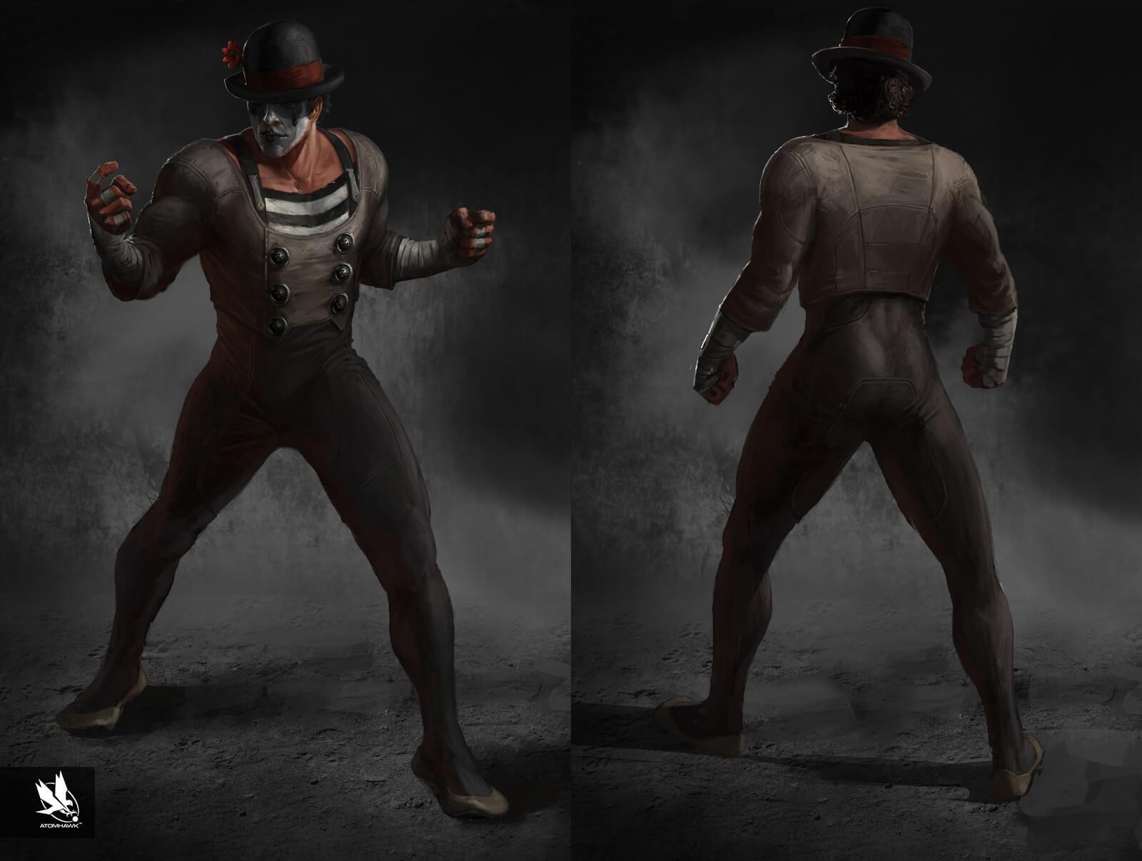 Mortal Kombat X - Character Design - Ninja Mime