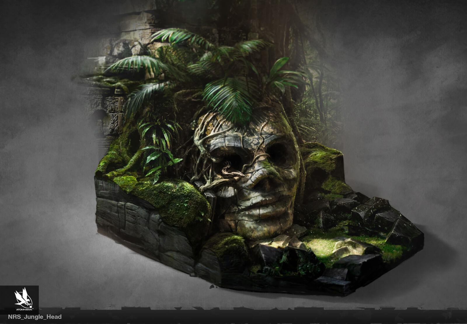 Atomhawk - Mortal Kombat X - Prop Design - Jungle