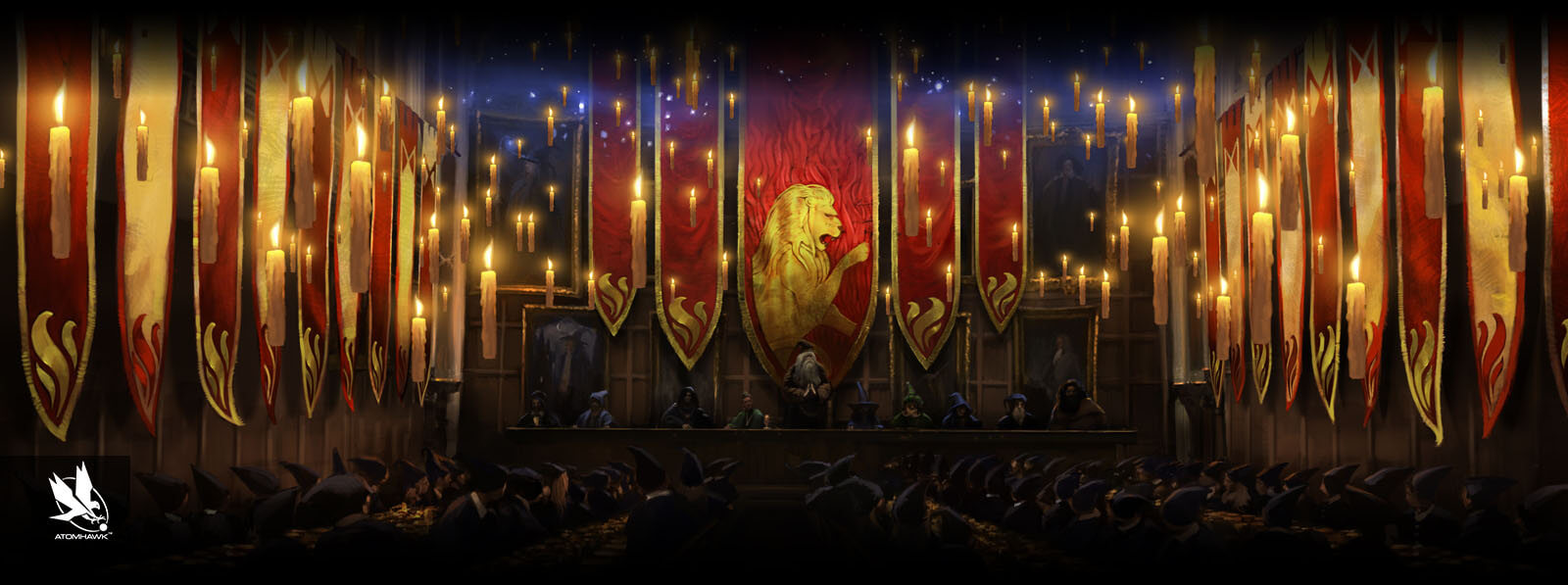 Pottermore - Concept Art - End of Term Feast
