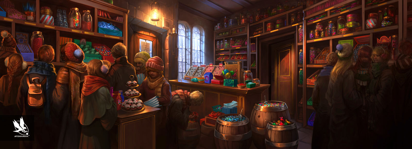 Pottermore - Concept Art - Honeydukes