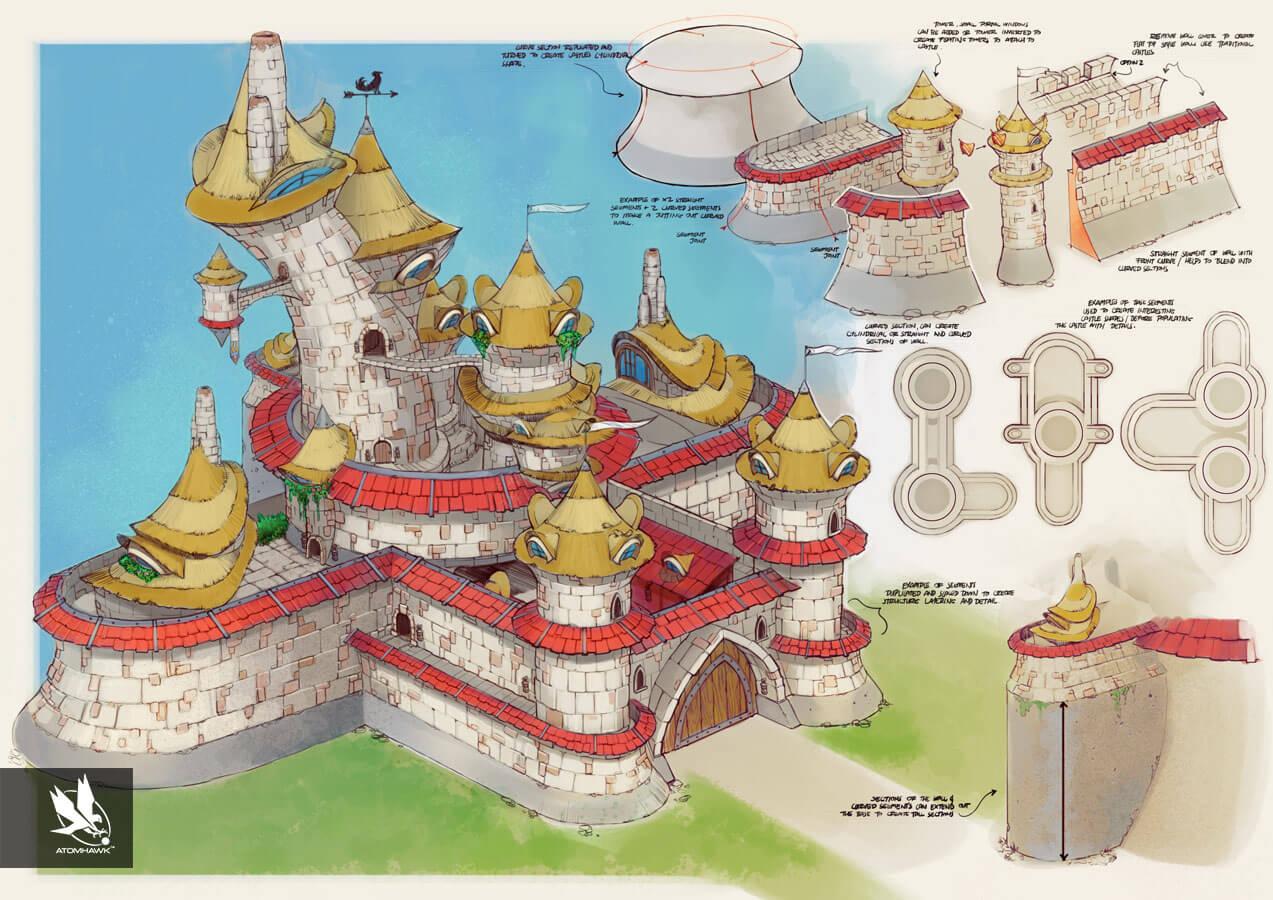 Project Spark - Environment Design - Arch Castle