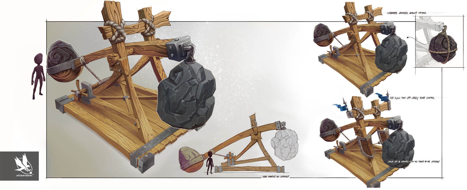 Project Spark - Prop Design - Catapult