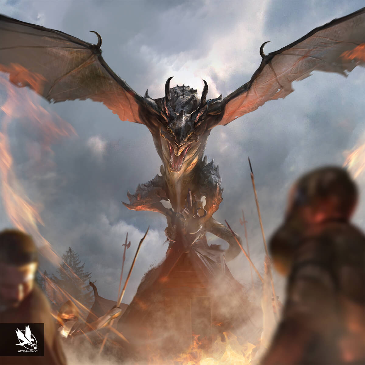 Atomhawk_Bethesda_The-Elder-Scrolls-Legends_Concept-Art_Creature-Design_Enraged-Dragon.jpg
