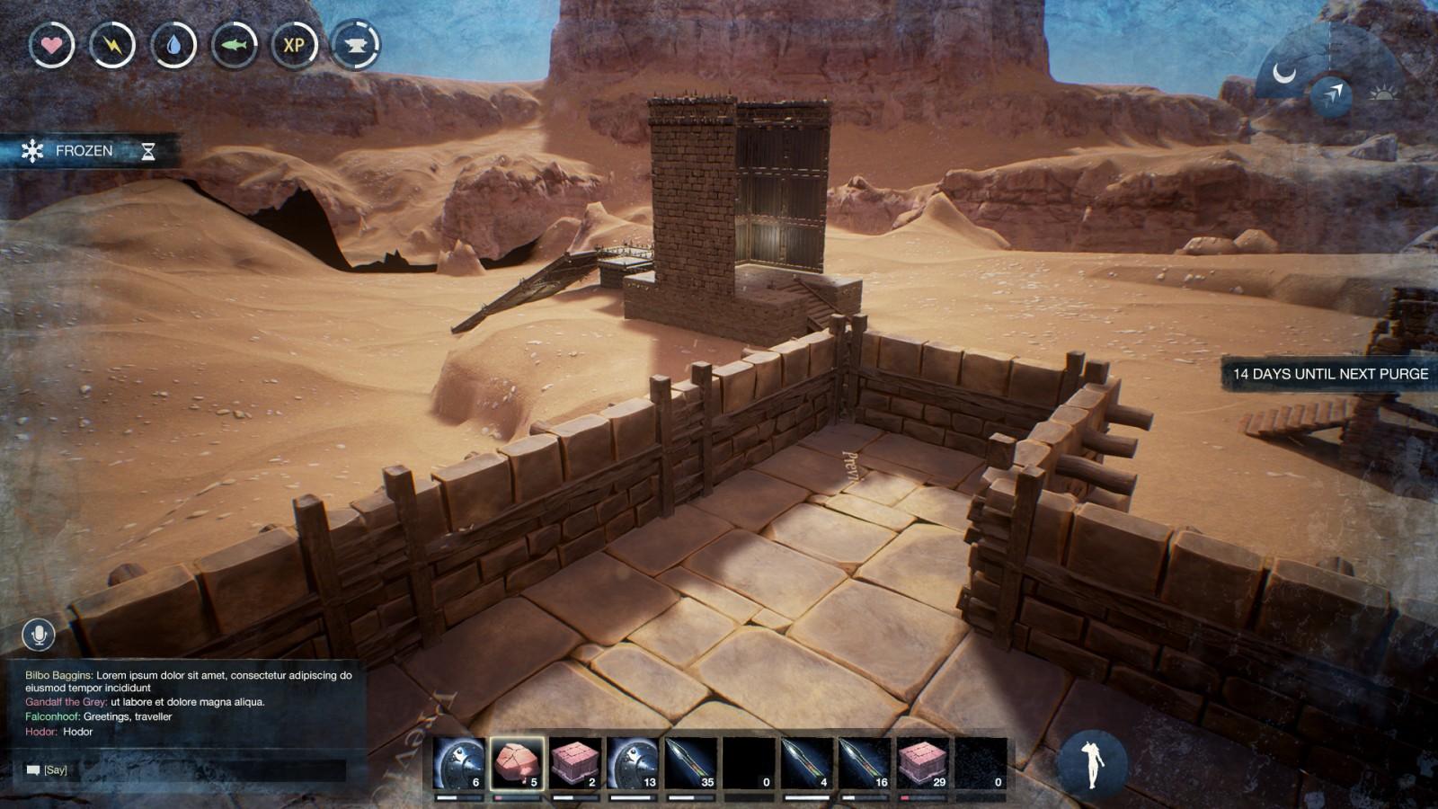 Conan Exiles - UI Design - HUD Design