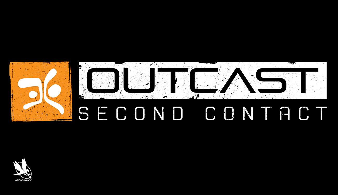 Atomhawk_BigBenOutcastSecondContact_MarketingArt_LogoDesign