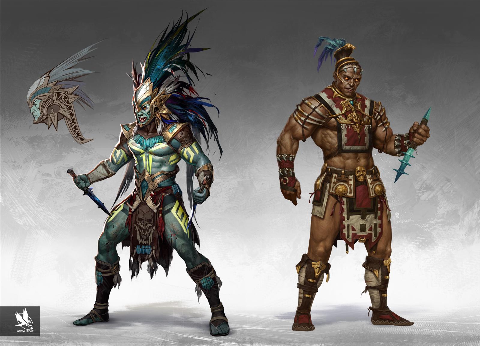 Atomhawk_Warner-Bros-NetherRealm_Mortal-Kombat-11_Concept-Art_Character-Design_Side-by-Side_Kotal-Kahn.jpg