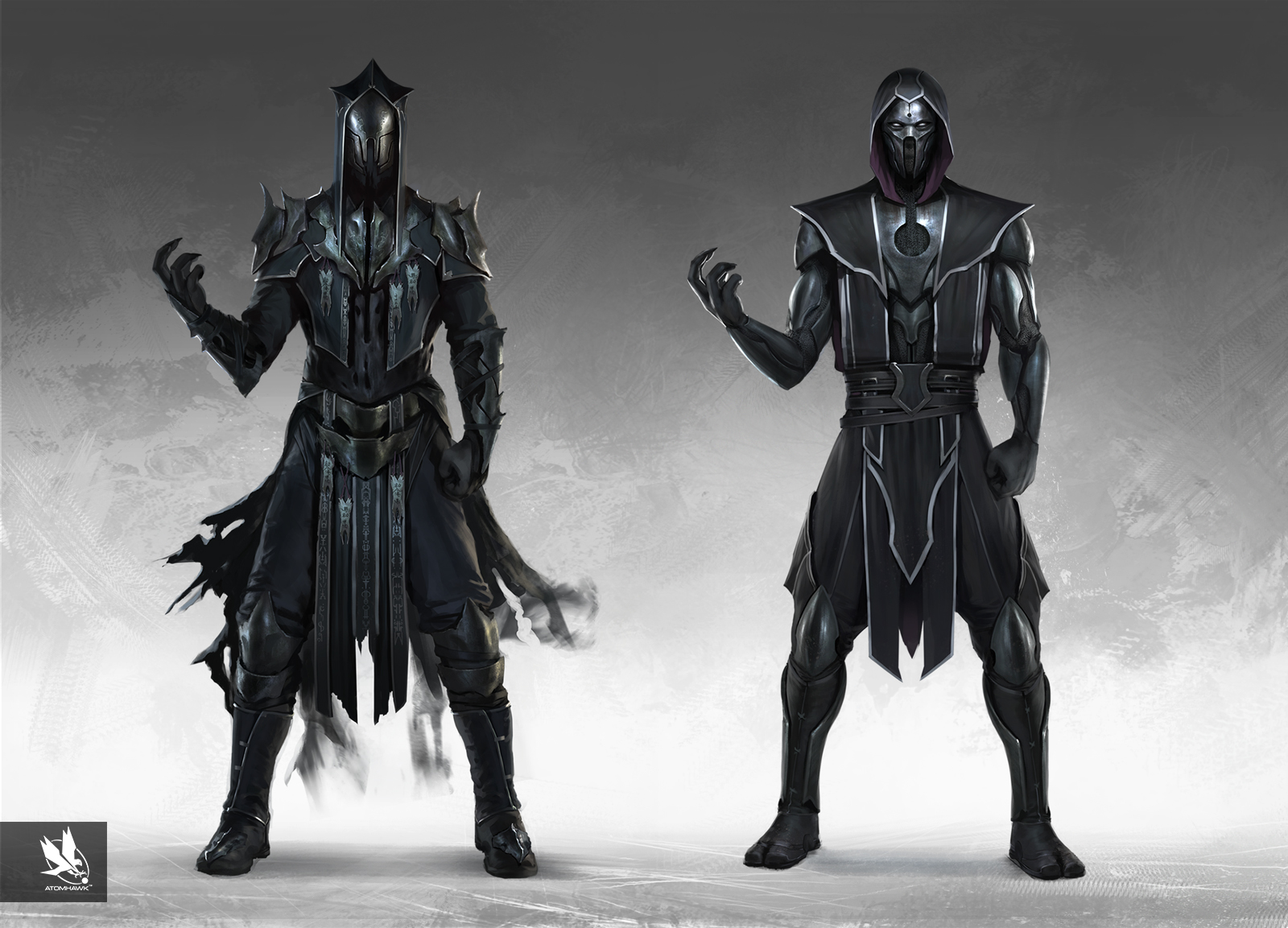 Atomhawk_Warner-Bros-NetherRealm_Mortal-Kombat-11_Concept-Art_Character-Design_Side-by-Side_Noob-Saibot.jpg