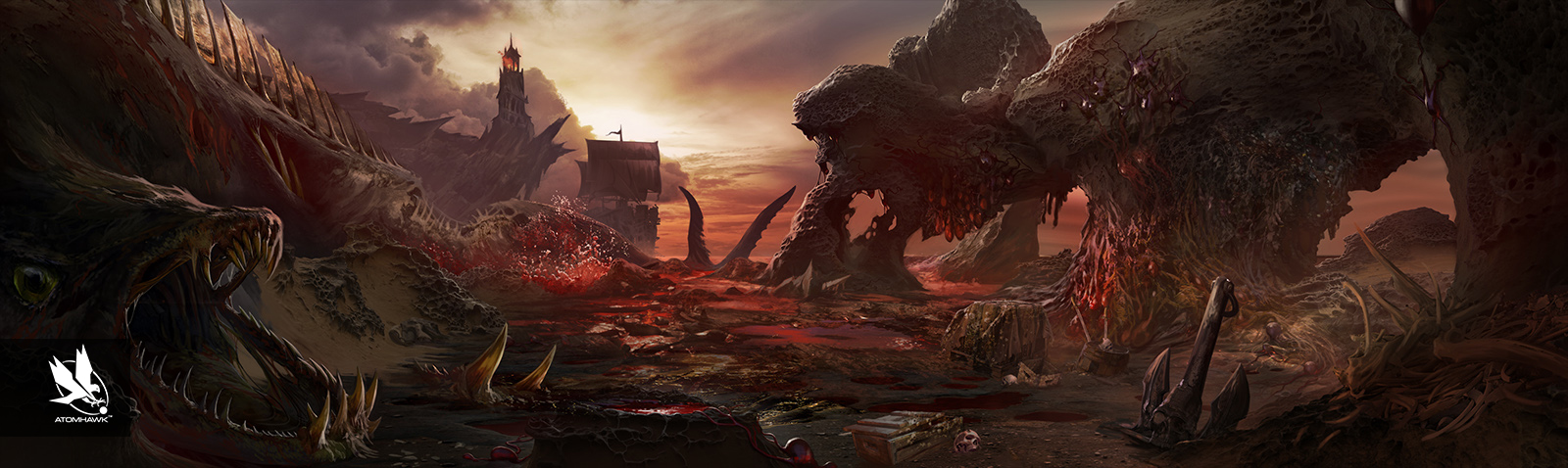 Atomhawk_Warner-Bros-NetherRealm_Mortal-Kombat-11_Concept-Art_Environment-Design_Sea-of-Blood.jpg