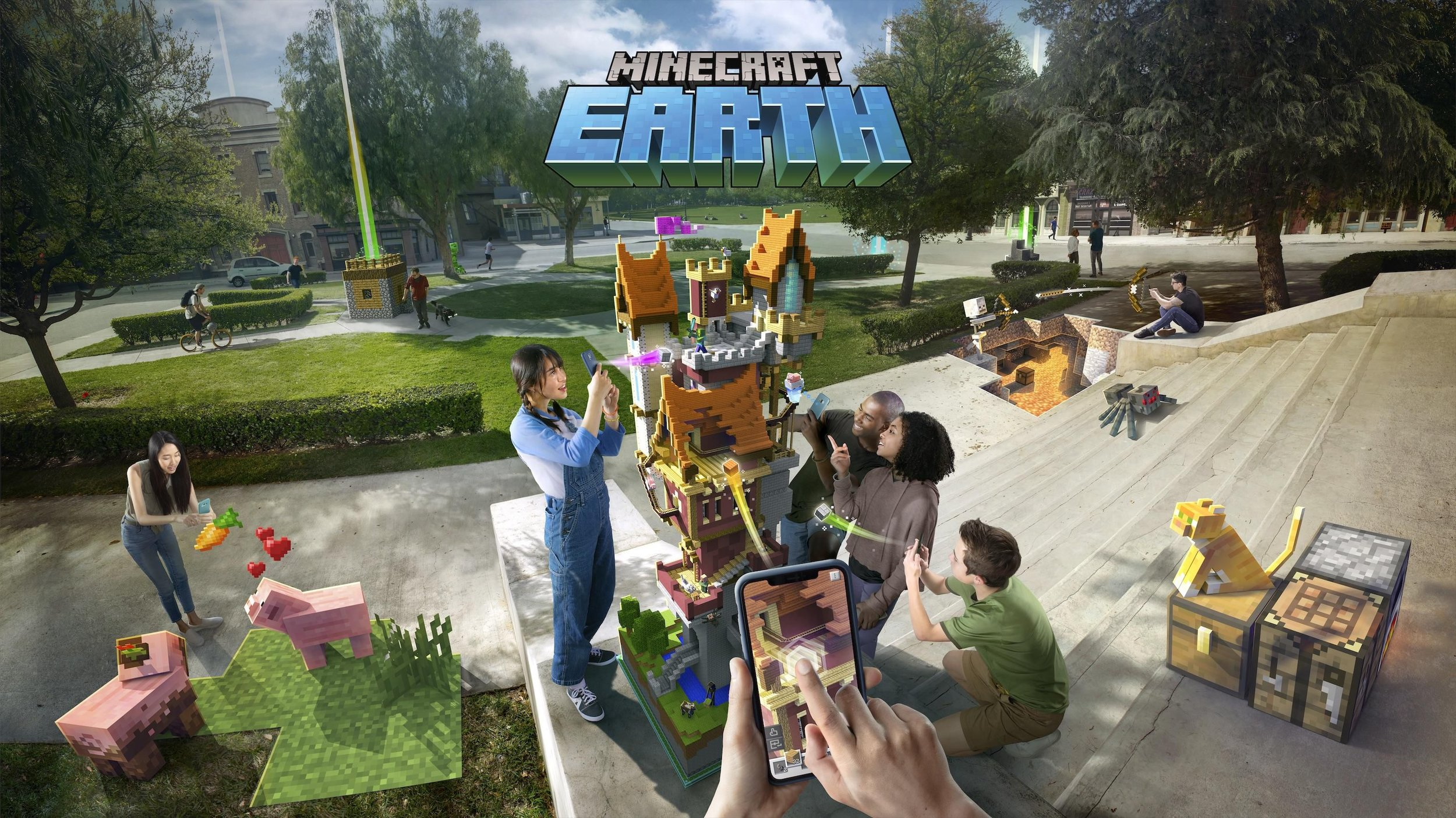 MINECRAFT EARTH - MicrosoftView this project >