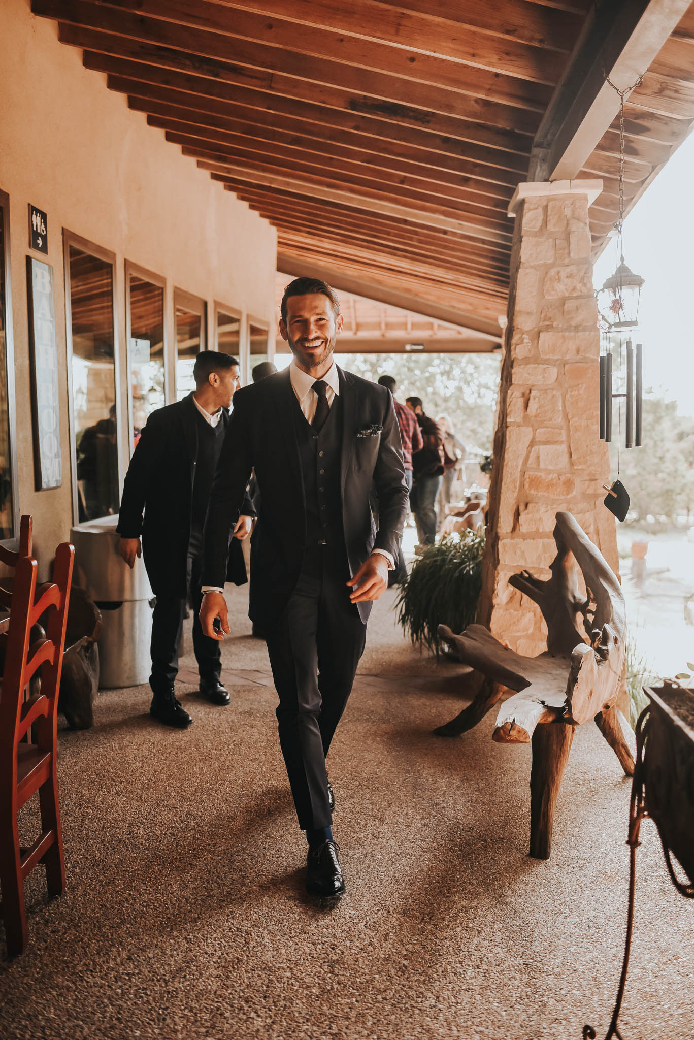 Groom at Chapel Dulcinea