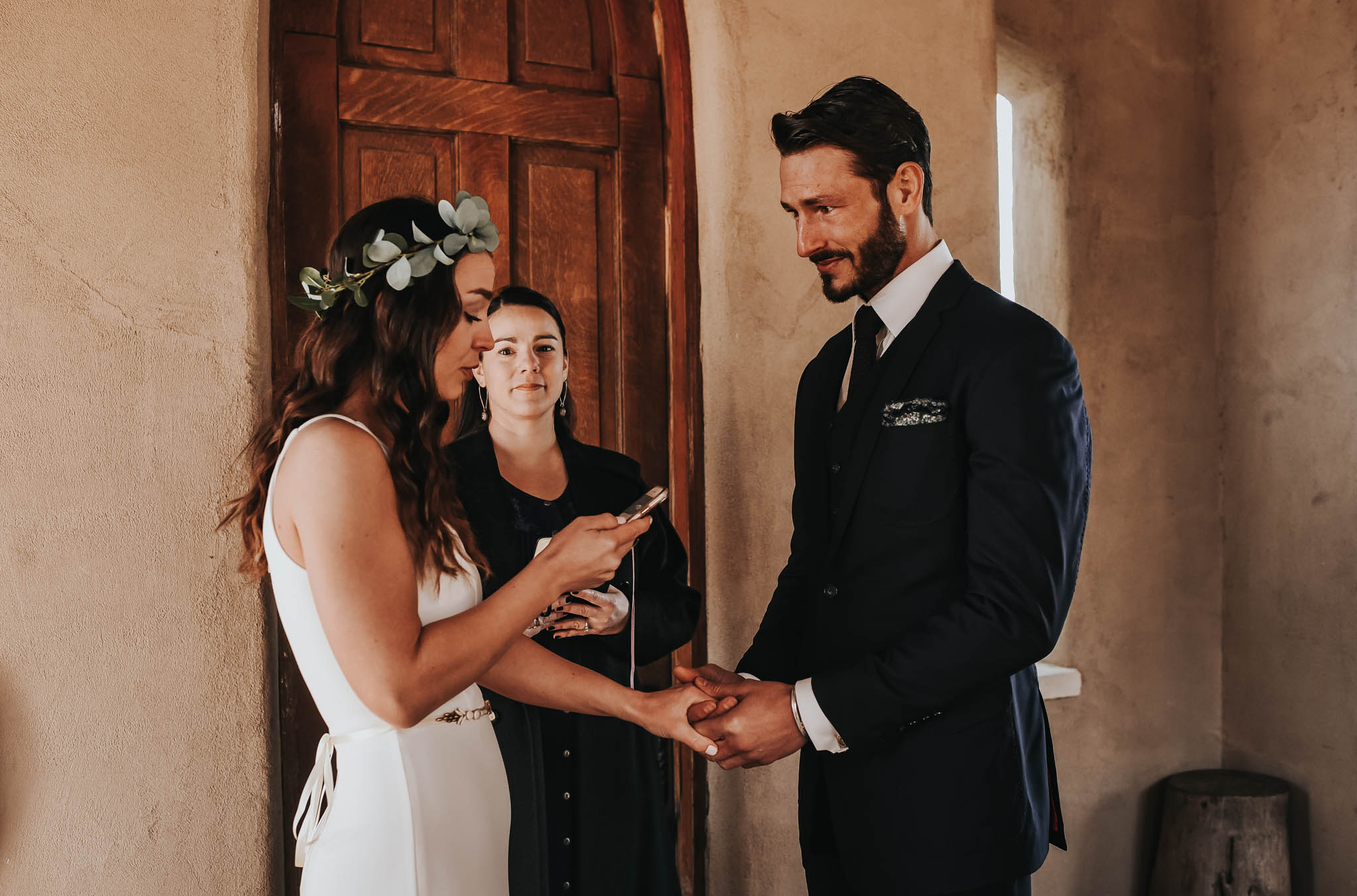 Bohemian Intimate Wedding at Chapel Dulcinea in Austin, Texas.