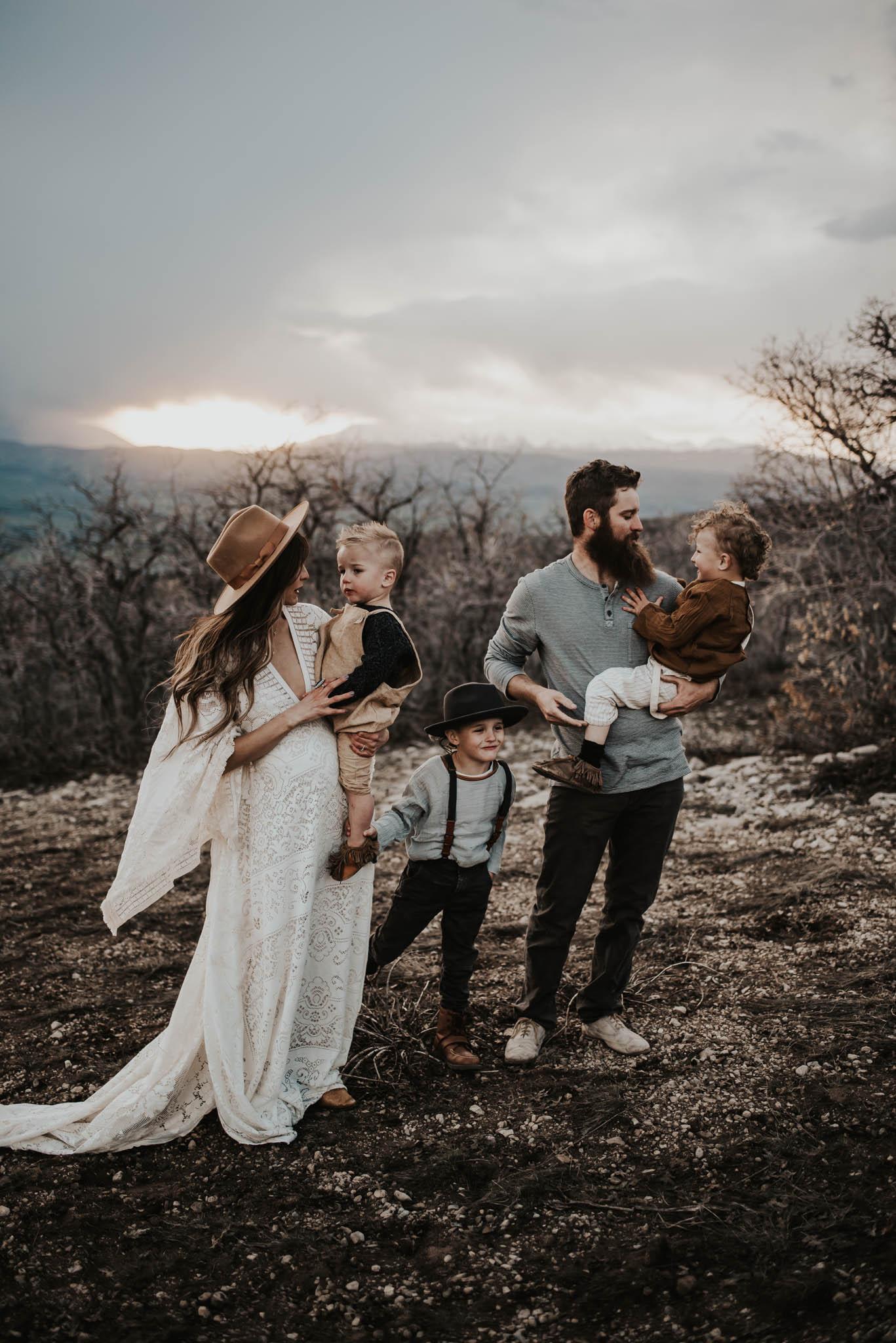 Beautiful Family, Fairview Utah.