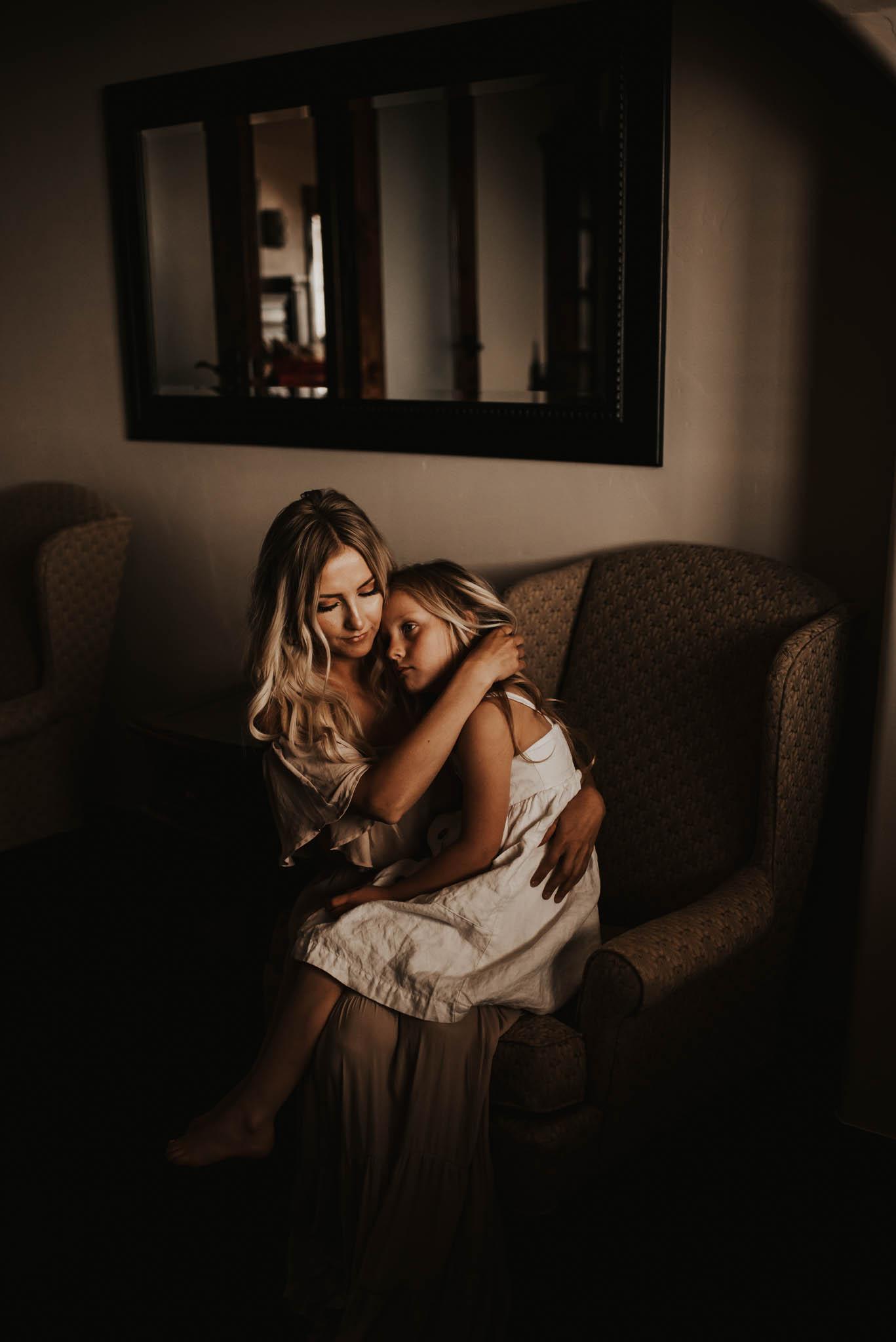 Intimate Motherhood session, Fairview, Utah.