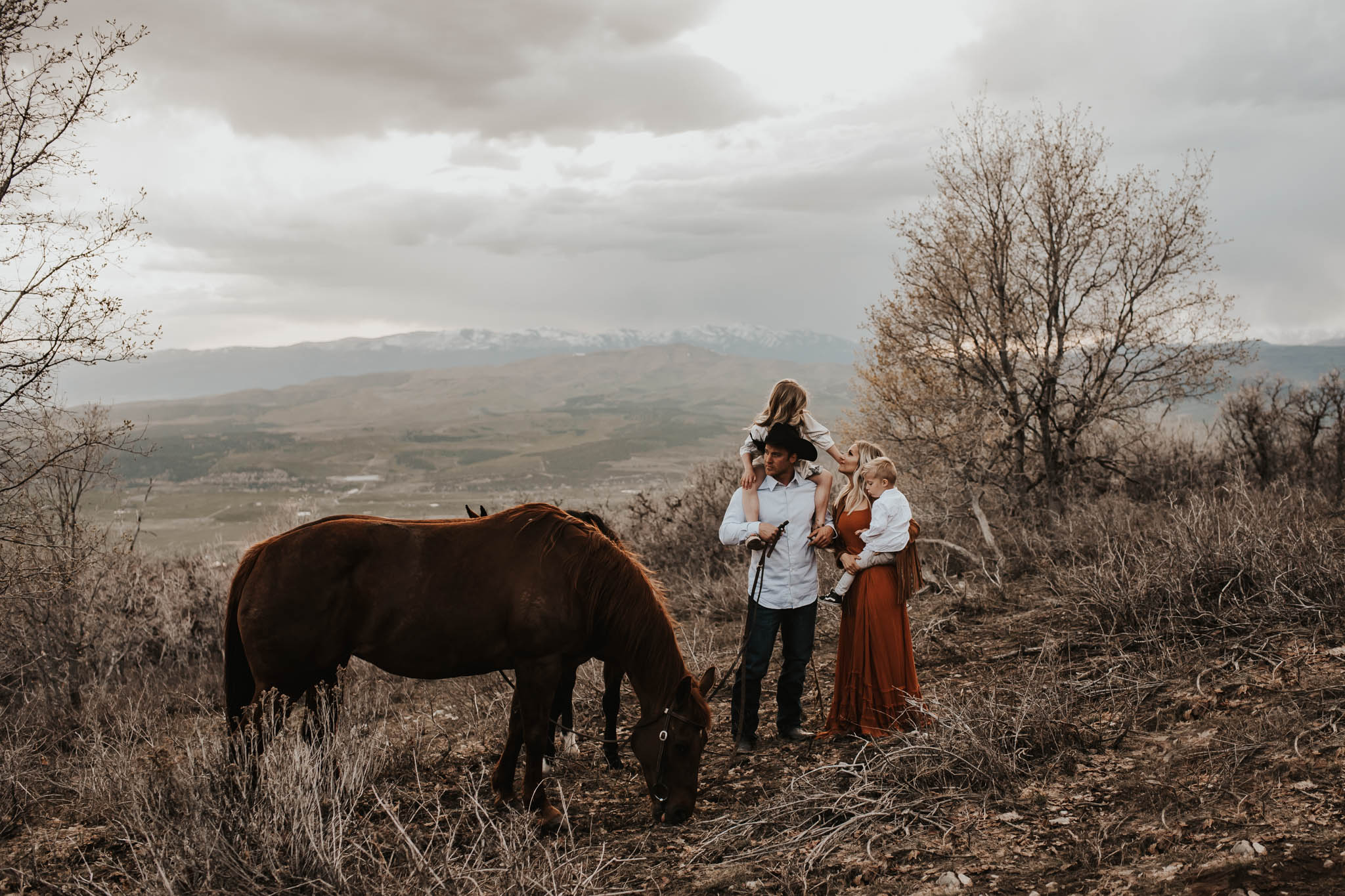 Family session, Fairview, Utah.