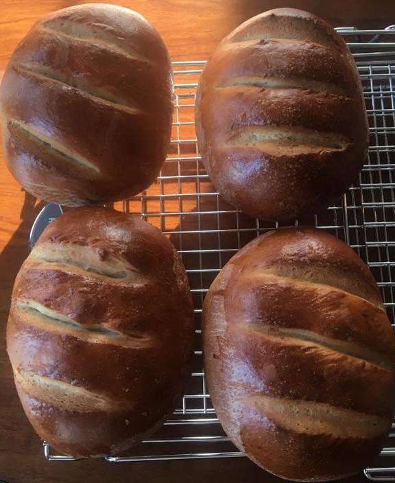 Individual loaves