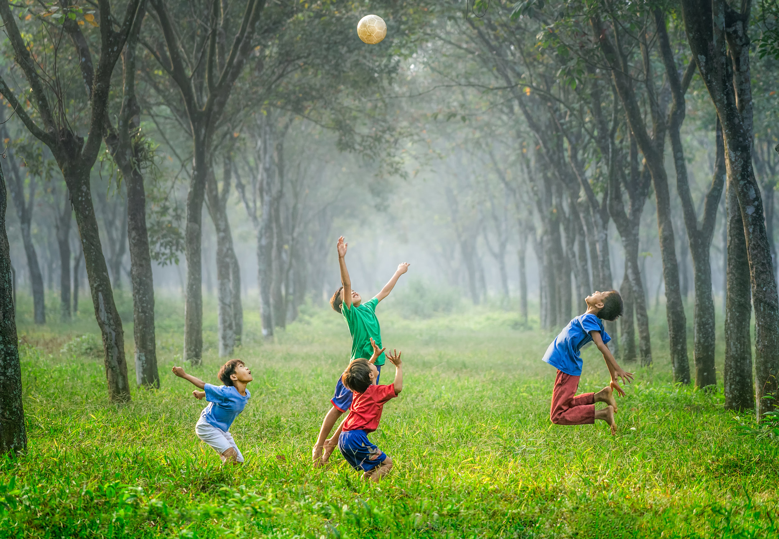 - Nature play helps children develop cognitive and social-emotional skills.