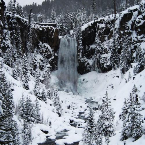 My favorite spot, Tumalo Falls, Bend, Oregon, USA.