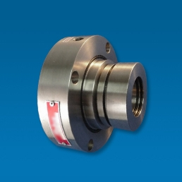 Factory assembled, balanced, single spring, stationary design cartridge seal with quench option. Suitable for crystallizing liquids or abrasive fluids encountered in the petrochemical, pulp, paper and power generation industries.